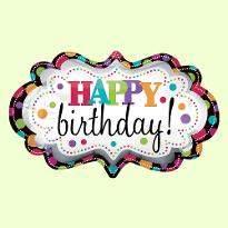 Designer Birthday Balloon