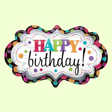 Buy Designer Birthday Balloon