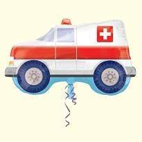 Ambulance Birthday Balloon