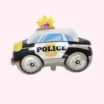Police Car Balloon