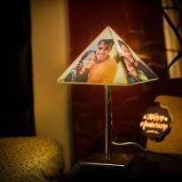 Pyramid Lamp Shade