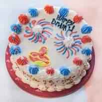 Diwali Cream Cake
