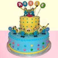 Minion Mode On Cake