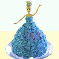 Chocolate Barbie Cake