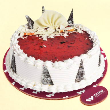 Buy Strawberry Fancy Cake