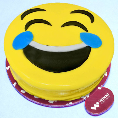 Buy Delectable Smiley Cake