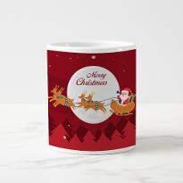 Santa Coffe Mug