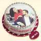 Buy Couple photo cake