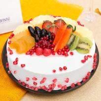 Fruit Fresca Cake
