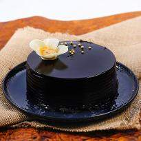 Yummy Chocolate Truffle Cake