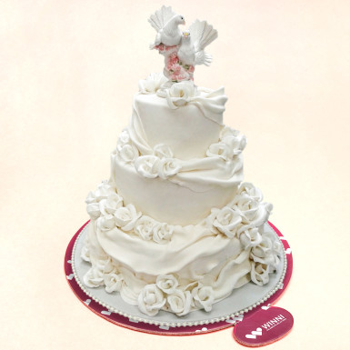 Buy Dream Puffs Wedding Cake