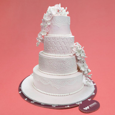 Buy Creamy Layers Wedding Cake