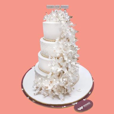 Buy Blooms Wedding Cake