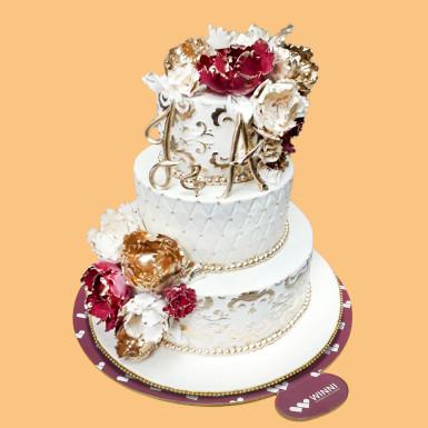 Buy Trendy Wedding Cake