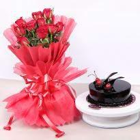 Beautiful Red Rose Hamper