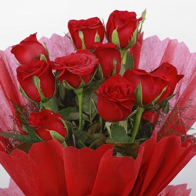 Buy Red Roses & Ferrero Combo
