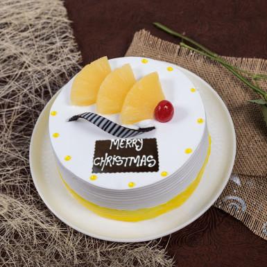 Buy Christmas Special Pineapple Cake
