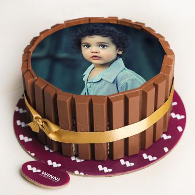 Buy Kitkat Photo Cake