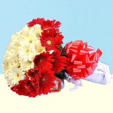 Best Wishes Mix Gerbera Flowers: order flowers
