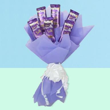 Buy Silk Chocolate Bouquet