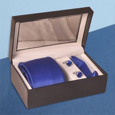 Buy TIE SET ROYAL BLUE