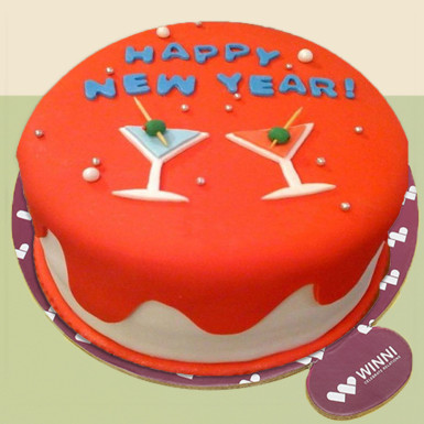 Buy Cheers New Year Cake