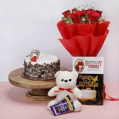 Buy Red roses Romantic Gift
