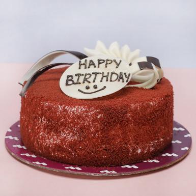 Buy Red Velvet Birthday Cake