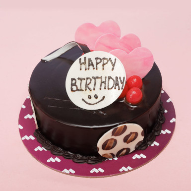 Buy Double Chocolate Birthday Cake